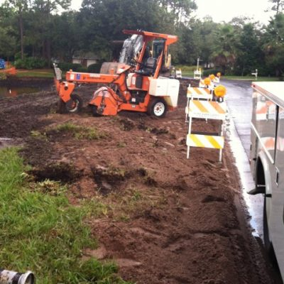 full service concrete work in orange park